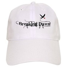 breaking dawn with bird  heart copy Baseball Cap