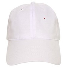 breaking dawn with bird and heart white copy Baseball Cap