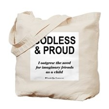 Godless & Proud Tote Bag