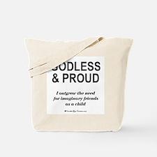 Godless & Proud Tote Bag