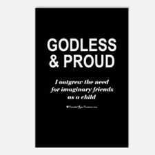 Godless & Proud Postcards (Package of 8)