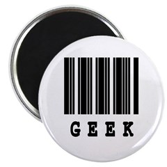 Geek Barcode Design 2.25