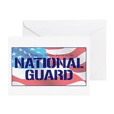 Cute National guard sister Greeting Cards (Pk of 10)