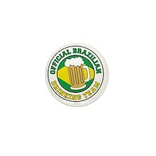 Brazilian Drinking Team Mini Button