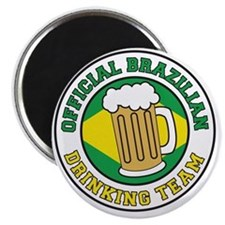 Brazilian Drinking Team Magnet
