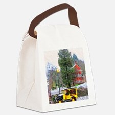 Fausel House  2008 with Model A w Canvas Lunch Bag