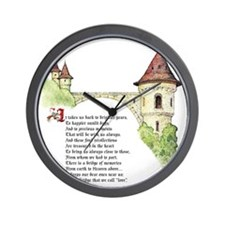 The Bridge We Call Love Wall Clock