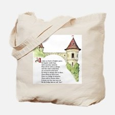 The Bridge We Call Love Tote Bag