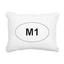 M1 Rectangular Canvas Pillow