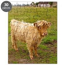 Hieland Coo Puzzle