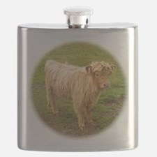 Hieland cow matte Flask
