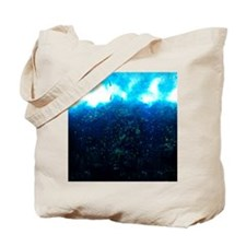 Underwater Surf Pillow Tote Bag