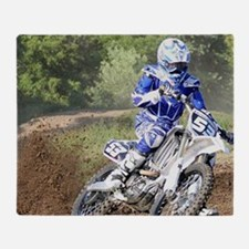 jordan motocross calender Throw Blanket