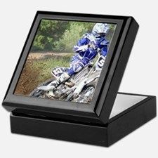 jordan motocross calender Keepsake Box