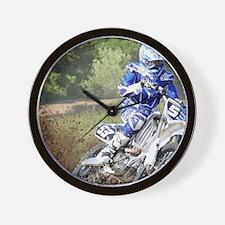 jordan motocross calender Wall Clock