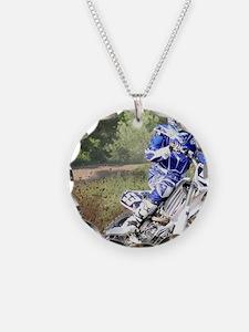 jordan motocross calender Necklace