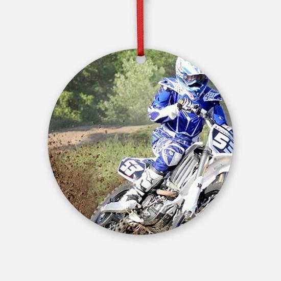 jordan motocross calender Round Ornament