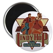 You Cant Stop The Lindy Hop Magnet