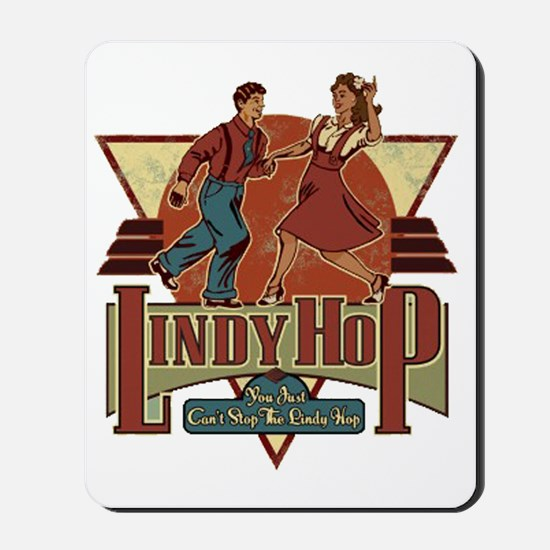 You Cant Stop The Lindy Hop Mousepad