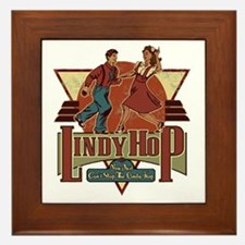 You Cant Stop The Lindy Hop Framed Tile