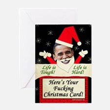 obamafchristmascard2011 Greeting Card
