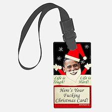 obamafchristmascard2011 Luggage Tag