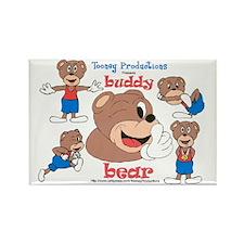 BB Puzzel no BG Rectangle Magnet