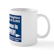 no_armed_right Mug