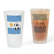 argentina copy Drinking Glass