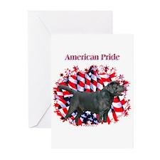 Black Lab Pride Greeting Cards (Pk of 10)