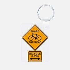 Share the Road Keychains