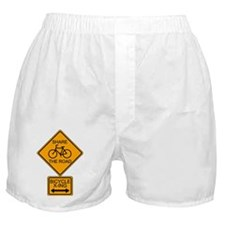Share the Road Boxer Shorts