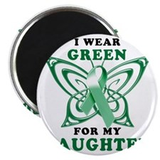 I Wear Green for my Daughter Magnet