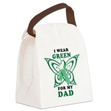 I Wear Green for my Dad Canvas Lunch Bag