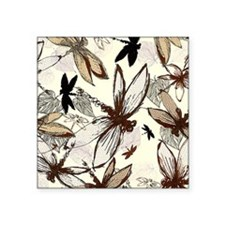 "dragonflies Square Sticker 3"" x 3"""