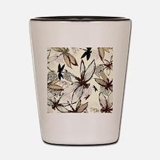 dragonflies Shot Glass
