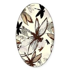 dragonflies Decal