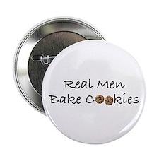 Real Men Bake Cookies Button