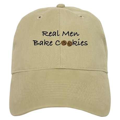 Real Men Bake Cookies Cap