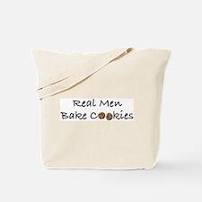 Real Men Bake Cookies Tote Bag