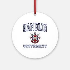 HAMBLIN University Ornament (Round)