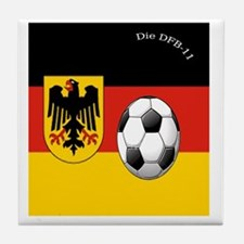 germany copy Tile Coaster