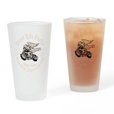 angel-fast-bw-DKT Drinking Glass