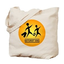 Naturist Xing Button Tote Bag