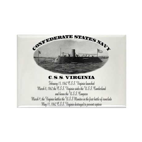 C.S.S. Virginia Rectangle Magnet (10 pack)