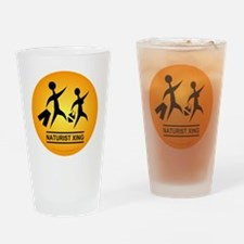 Naturist Xing Button Drinking Glass