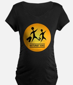 Naturist Xing Button T-Shirt