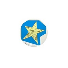 Shopping Star Mini Button