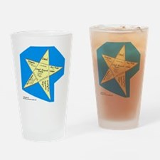 Shopping Star Drinking Glass