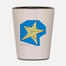 Shopping Star Shot Glass
